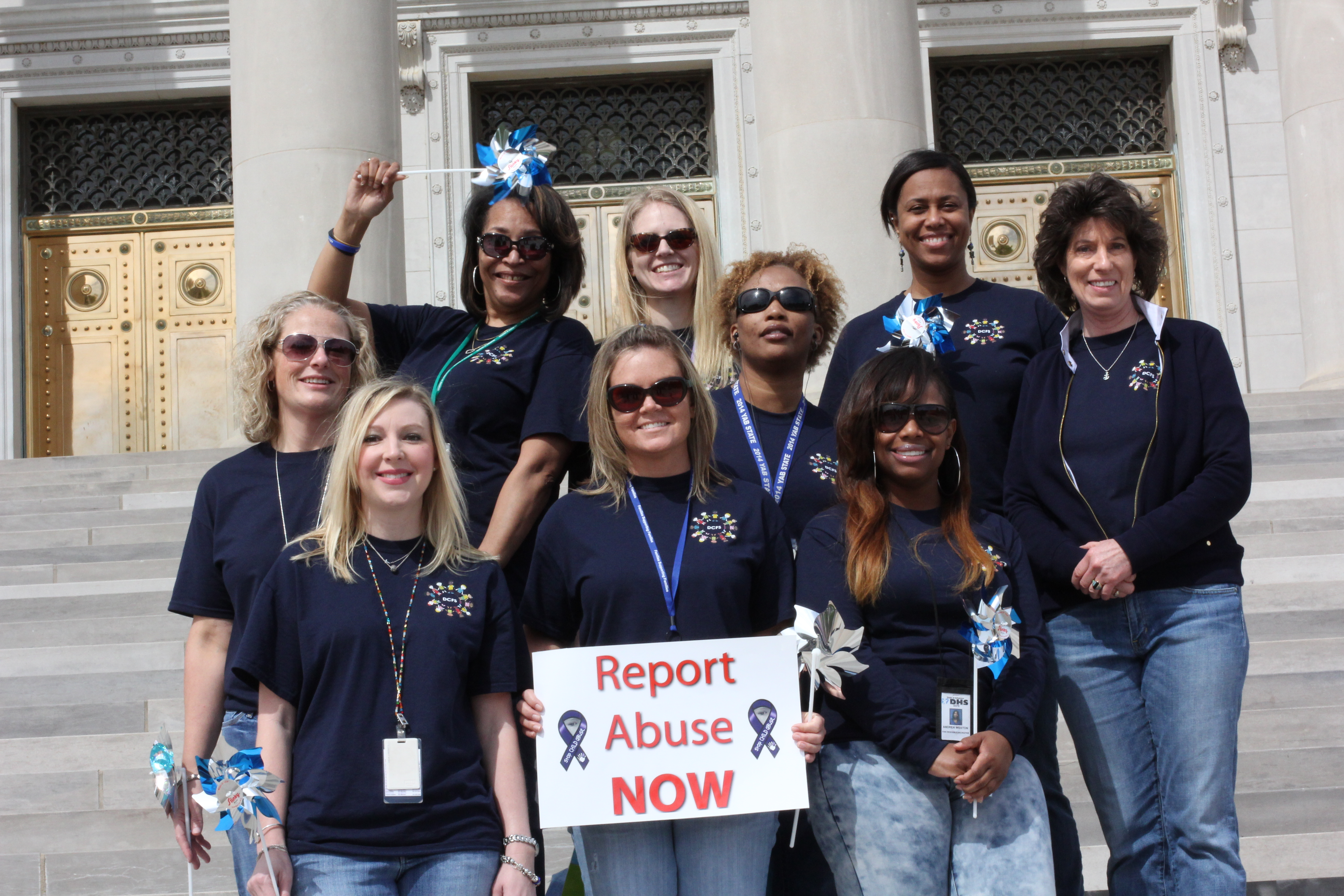 Child Abuse Prevention Rally 2015